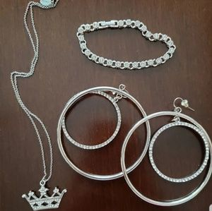Rhinestone Jewelry Lot